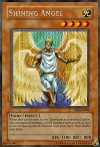 Shining Angel - HL06-EN006 - Parallel Rare - Promo Edition