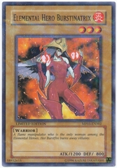 Elemental Hero Burstinatrix - MF03-EN002 - Parallel Rare - Limited Edition