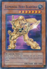 Elemental Hero Bladedge - MF03-EN005 - Parallel Rare - Limited Edition