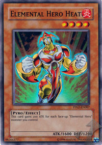 Elemental Hero Heat - PP02-EN007 - Super Rare - Unlimited Edition