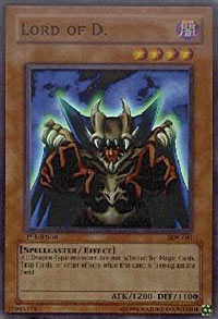 Lord of D. - SDK-041 - Super Rare - 1st Edition