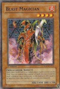 Blast Magician - SDSC-EN014 - Common - 1st Edition