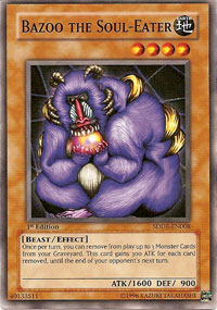 Bazoo the Soul-Eater - SDDE-EN008 - Common - 1st Edition