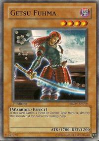 Getsu Fuhma - SDZW-EN010 - Common - 1st Edition