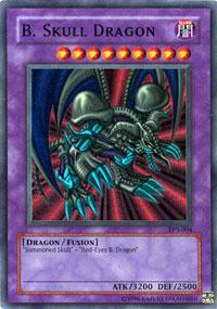 B. Skull Dragon - TP3-004 - Super Rare - Unlimited Edition
