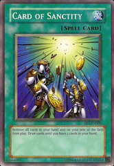 Card of Sanctity - EP1-EN000 - Common - Promo Edition