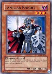 Familiar Knight - EP1-EN006 - Common - Promo Edition