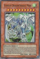 Stardust Dragon/Assault Mode - DP09-EN001 - Super Rare - 1st Edition