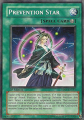 Prevention Star - DP09-EN017 - Common - 1st Edition on Channel Fireball