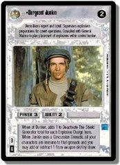 Sergeant Junkin