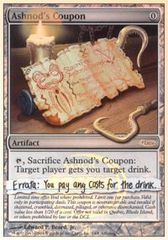 Ashnod's Coupon - Foil
