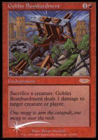 Goblin Bombardment - Foil