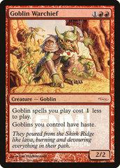 Goblin Warchief - Foil FNM 2006