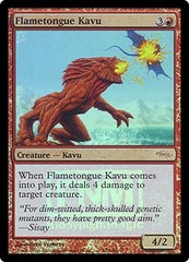 Flametongue Kavu (FNM Foil)