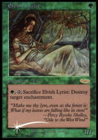 Elvish Lyrist - Foil JSS Promo