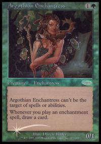 Argothian Enchantress - Foil DCI Judge Promo
