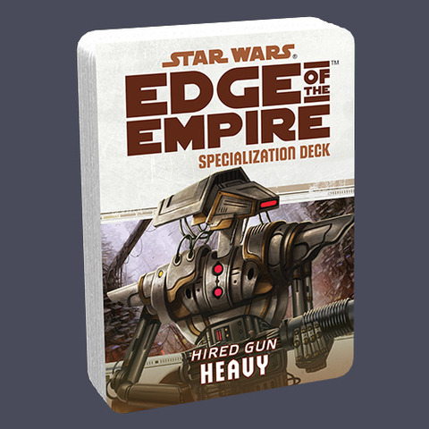 Star Wars: Edge of the Empire: Heavy Specialization Deck