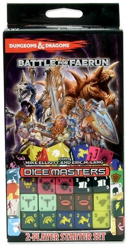D&D Dice Masters: Battle for Faerun Starter Pack