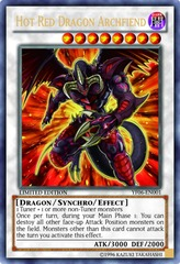 Hot Red Dragon Archfiend - YF06-EN001 - Ultra Rare - Limited Edition