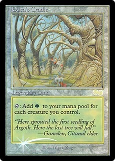 Gaea's Cradle - Foil DCI Judge Promo