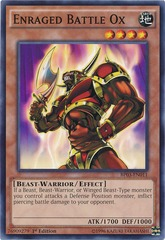 Enraged Battle Ox - BP03-EN011 - Common - 1st Edition