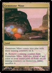 Gemstone Mine - Foil DCI Judge Promo on Channel Fireball