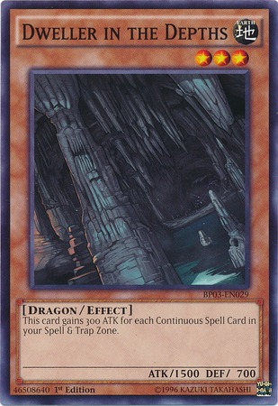 Dweller in the Depths - BP03-EN029 - Common - 1st Edition