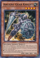 Ancient Gear Knight - BP03-EN033 - Rare - 1st Edition on Channel Fireball