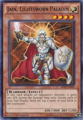 Jain, Lightsworn Paladin - BP03-EN042 - Rare - 1st Edition