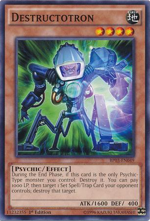 Destructotron - BP03-EN049 - Common - 1st Edition