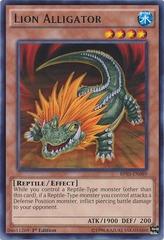Lion Alligator - BP03-EN089 - Rare - 1st Edition