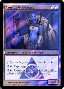 Azorius Guildmage - Foil - Launch Promo