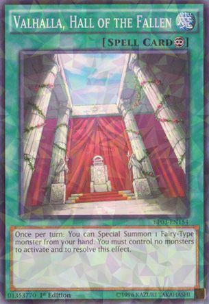 Valhalla, Hall of the Fallen - BP03-EN154 - Shatterfoil - 1st Edition