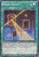 Night Beam - BP03-EN176 - Shatterfoil - 1st Edition