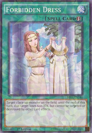 Forbidden Dress - BP03-EN180 - Shatterfoil - 1st Edition