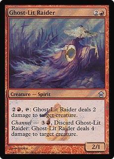 Ghost-lit Raider - Foil - Launch Promo