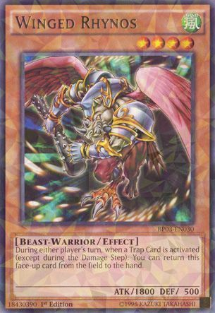 Winged Rhynos - BP03-EN030 - Shatterfoil - 1st Edition