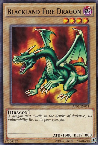 Blackland Fire Dragon - AP05-EN014 - Common - Unlimited Edition