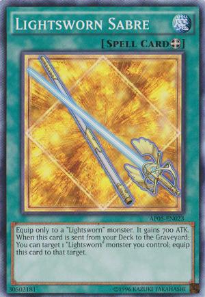 Lightsworn Sabre - AP05-EN023 - Common - Unlimited Edition