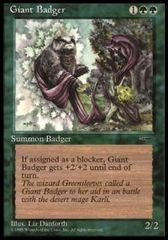Giant Badger - Book Promos