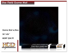 Star Field Game Mat