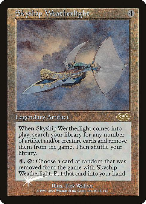 Skyship Weatherlight Alternate Art Foil