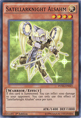 Satellarknight Alsahm - DUEA-EN021 - Super Rare - 1st Edition on Channel Fireball