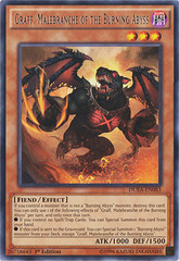 Graff, Malebranche of the Burning Abyss - DUEA-EN083 - Rare - 1st Edition