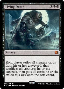 Living Death - Foil