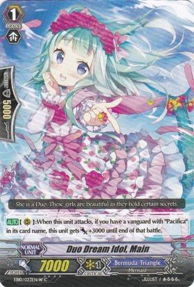 Duo Dream Idol, Main - White - EB10/023EN-W - C