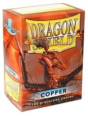 Dragon Shield Sleeves Box of 100 in Copper