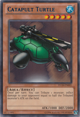Catapult Turtle - Blue - DL18-EN001 - Rare - Unlimited Edition