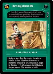 Aurra Sing's Blaster Rifle