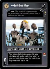 Battle Droid Officer - Common